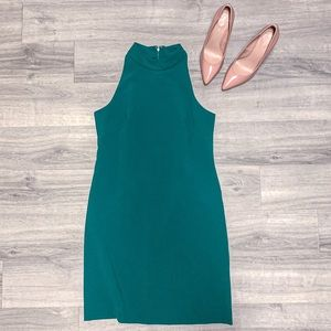 Vince Camuto Green Sleeveless Dress Size 8